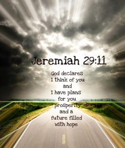Inspirational Bible Verses – Jeremiah 29-11 – God Has Plans for You