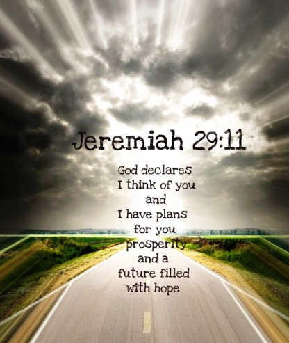 Inspirational Bible Verses – Jeremiah 29-11 – God Has Plans for You
